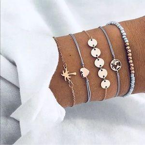 Jewelry - ❖ Palm Tree Layered Bracelet Set ❖